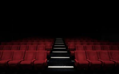 boş sinema koltukları